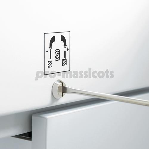 Votre achat de massicot lectrique 4350 sur meuble ideal for Meuble porte electrique