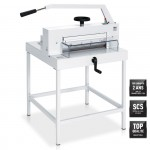 massicot manuel IDEAL 4705 sur stand